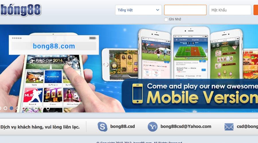 Nhà cái cá độ bóng đá Online Bong88
