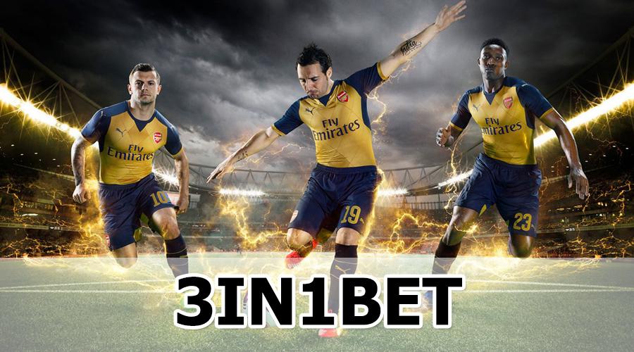 Nhà cái cá cược bóng đá trên mạng 3IN1BET