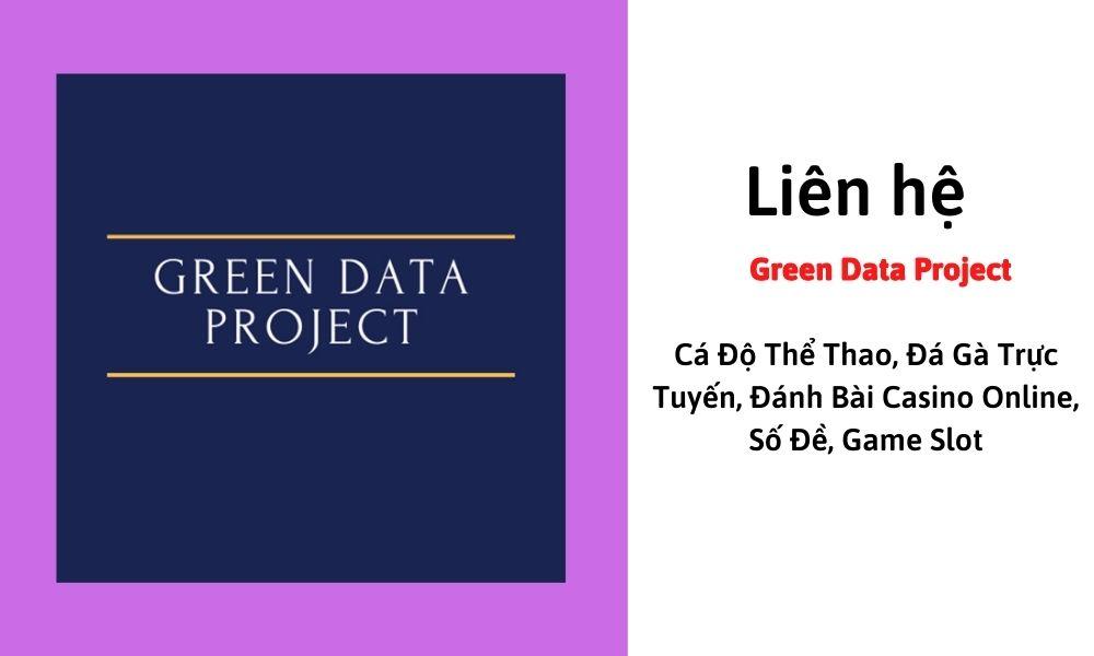 Liên hệ Green Data Project